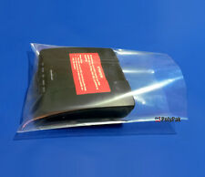 """1000 5x12"""" Poly Bags 2 Mil Clear Lay-flat Open Top PE Plastic Baggies Case"""