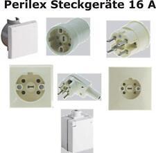 perilex stecker Kupplung Steckdose 16 Ampere Starkstrom Kraftsteckgeräte Perilex