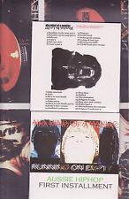 AKA MIND OF A MANIAC ( BULK cd X 10 units ) Aussie Hiphop truly independent