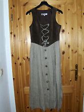 Alphorn Dirndl Kleid Trachtenkleid Kleid Gr.38 Leder -Oberteil , neuwertig