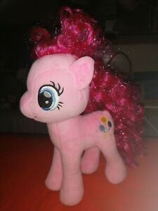 """My Little Pony 11"""" TY Soft Plush Pinkie Pie Toy Excellent Condition"""