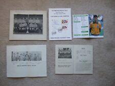 stamped postcard fifa world cup espana 82 inc england scotland northern ireland