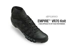 Giro Empire VR70 Knit black/Charcoal size 41-45
