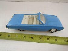 VINTAGE PLASTIC TOY CAR KORRIS KARS PRODUCT BLUE CONVERTIBLE 2 DOOR