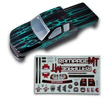 1:5 Redcat Rampage Monster Truck Black & Green Body Shell With Decals MT XT