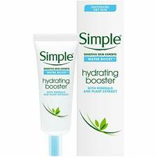 Simple Water Boost Hydrating Booster, Sensitive Skin Moisturizing Lotion 0.85 Oz