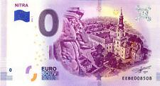 SLOVAQUIE Nitra, Monuments, 2018, Billet 0 € Souvenir