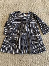 Baby Girl  Collection Zara Dress Size 18-24 Months Long Sleeve Buttons