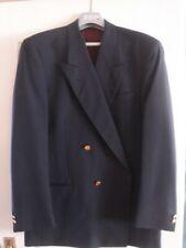 Men's. Yves Saint Laurent Double Brest Dark Navy Blazer Jacket.