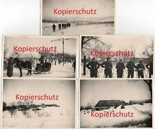 5 x WK2 Foto Kursk 116. Panzer-Division Windhund Div. Karassewka 2413