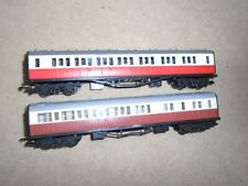 Pair of Thomas & Friends Coaches for Hornby OO Gauge Train Sets