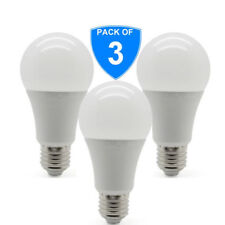 3x BRIGHT 5000K 12W E27 LED Edison Screw Bulb GLS 75w Replacement Cool White 850