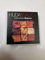 HUDA Beauty EYESHADOW PALETTE * WARM BROWN OBSESSION* NEW In Box AUTHENTIC