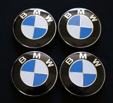 NEW 4Pack BMW Logo Wheel Rim Center Caps 1 3 5 6 7 X Z Series 68mm Emblem Badge