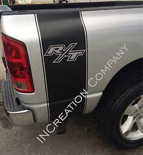 Truck vinyl decals racing stripes Dodge Ram rear bed logo hemi mopar daytona rt