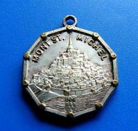 """#10444# Jolie Médaille religieuse en bronze """" Saint Michel""""/médaille pendentif"""