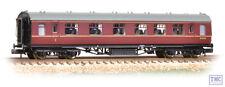 374-852A Graham Farish N Gauge Stanier Vestibule Composite BR Maroon
