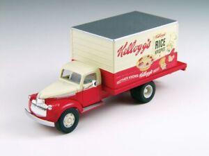 Classic Metal Works # 30391 1941-46 Chev Box Del Truck Kellogg's Cereals HO MIB