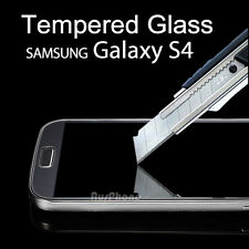 2x Super Tough Tempered Glass Screen Protector for Samsung Galaxy S4 4G i9500