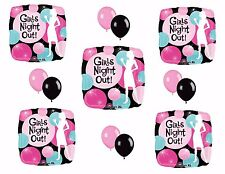 GIRLS NIGHT OUT Balloons Bachelorette Party Decoration Party Bus Bar Hens Night