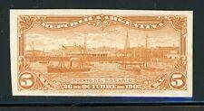 Argentina Rosario Port Specialized: Scott #143 5c Orange Brown PLATE PROOF $$$