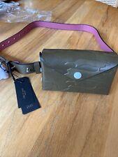 $350+ NWT Rag & Bone Atlas Belt Bag OLIVE Leather M/L