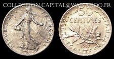 50 centimes 1917 Argent Côte SPL 12€ FDC 35€