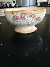 "Vintage Crown  Devon  Fieldings Fruit Bowl  - 9"" Diameter - Collectable"