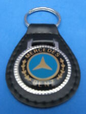MERCEDES LEATHER AUTO KEYCHAIN KEY CHAIN RING FOB NEW #272