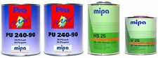 Mipa 2K-Lack Mercedes (7731) Anthrazitgrau, glänzend, 3,5 Liter Set, #MP18