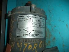 General Electric, 1Hp, 208-230v, 3450 Rpm, 60Hz, Phase 3