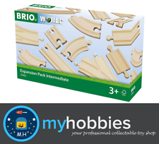 BRIO Tracks - Expansion Pack Intermediate, 16 pieces Wooden Toy Train