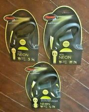 Flexi Neon 16ft Tape Retractable Leashes! Choose From ☆3☆ Sizes!