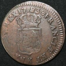 1783 K | France Bordeaux Sol 'Off-Centre' | Coins | KM Coins