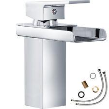 Waschtischarmatur Wasserfall Einhandmischer moderner Wasserhahn Bad Badarmaturen