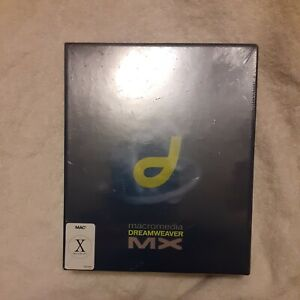 Macromedia DREAMWEAVER MX  Software Mac Education Version Sealed