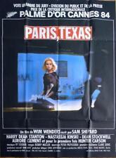 PARIS TEXAS - WIM WENDERS / NASTASSJA KINSKI -ORIGINAL LARGE FRENCH MOVIE POSTER