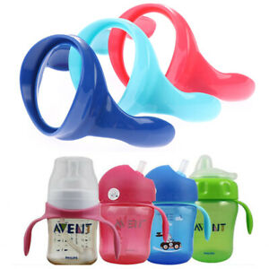 2Pcs Feeding Bottle Non-Slip Grip Handle For Natural Wide Mouth Feeding Bot`
