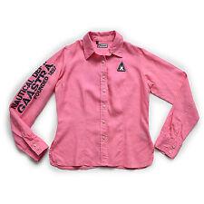 GAASTRA Damen Bluse S 36 6 Leinen rosa Langarm Women shirt Hemd Oberteil Top NEU