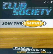 Club Society 2-Join the Empire (1998; 36 tracks) Phil Fuldner, Run DM [CD DOPPIO]