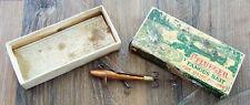 Vintage Pflueger #290 Copper Breakless Devon Fishing Lure in Correct Box!