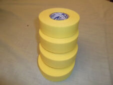 "YELLOW TRAINERS TAPE  4 rolls  1""x25yds.   * COSMETIC SECONDS *"