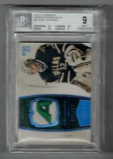 2010-11 Panini Dominion Kari Lehtonen 3 Color Logo Patch #'D 06/25 BGS 9 MINT