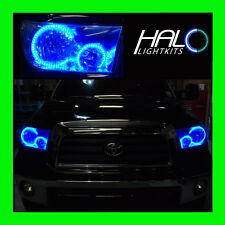 FOR TOYOTA TUNDRA 2007-2013 BLUE LED LIGHT HEADLIGHT HALO KIT by ORACLE