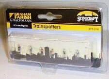 Graham Farish Scenecraft 379-314 Trainspotters (N Gauge) Figures