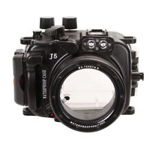 MeiKon 40m Underwater Waterproof Diving Photo Housing Case For Nikon J5 10-30mm