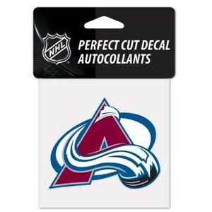 Colorado Avalanche NHL Wincraft Perfect Cut Decal 4x4 FREE SHIP!