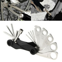 Fifteen in One Split Type Portable Bicycle Tool Kit w// Offset Spanner Wrenches
