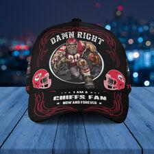Kansas City Chiefs Classic Cap Nfl Football 3D Hat Apparel Cap For Fan.