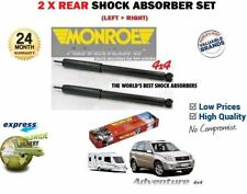 FOR TOYOTA RAV4 RAV 4 4X4 2000-2005 2 x REAR SHOCK ABSORBER HEAVY DUTY TOWING